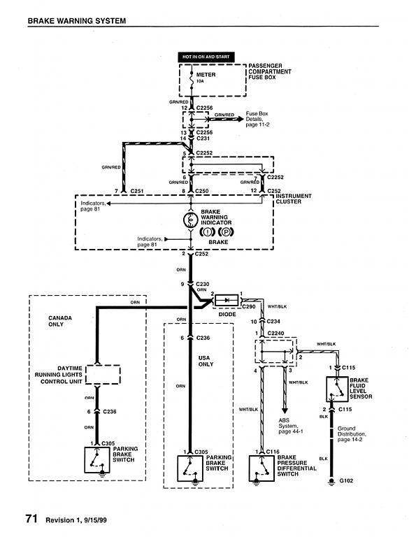 Wiring Diagram PDF: 2002 S10 Brake Light Wiring Diagram