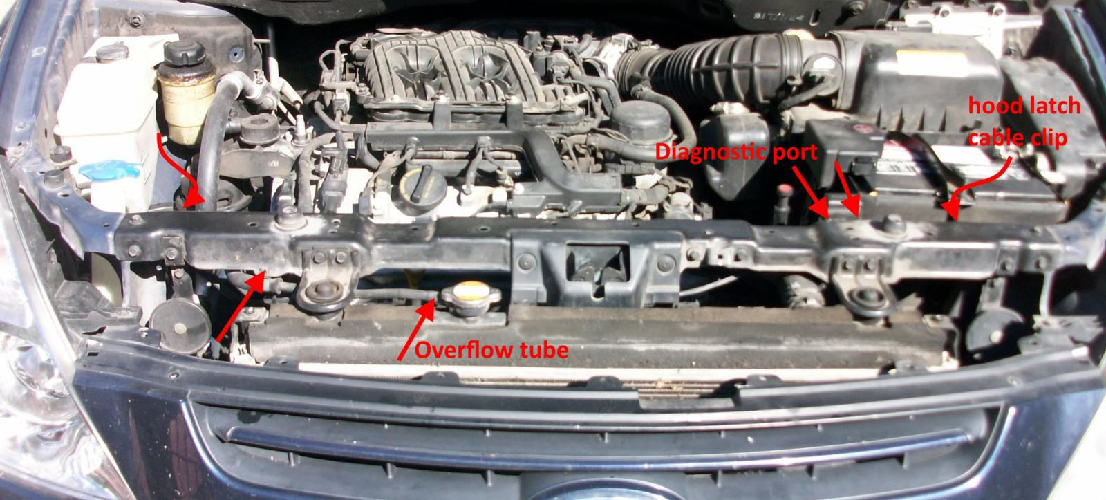 2000 kia sportage wiring diagram farmall cub diy: replacing the front(left) valve cover gasket (part i) - forum