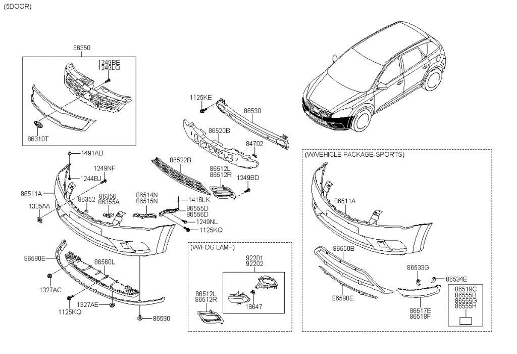 kia motors diagrams