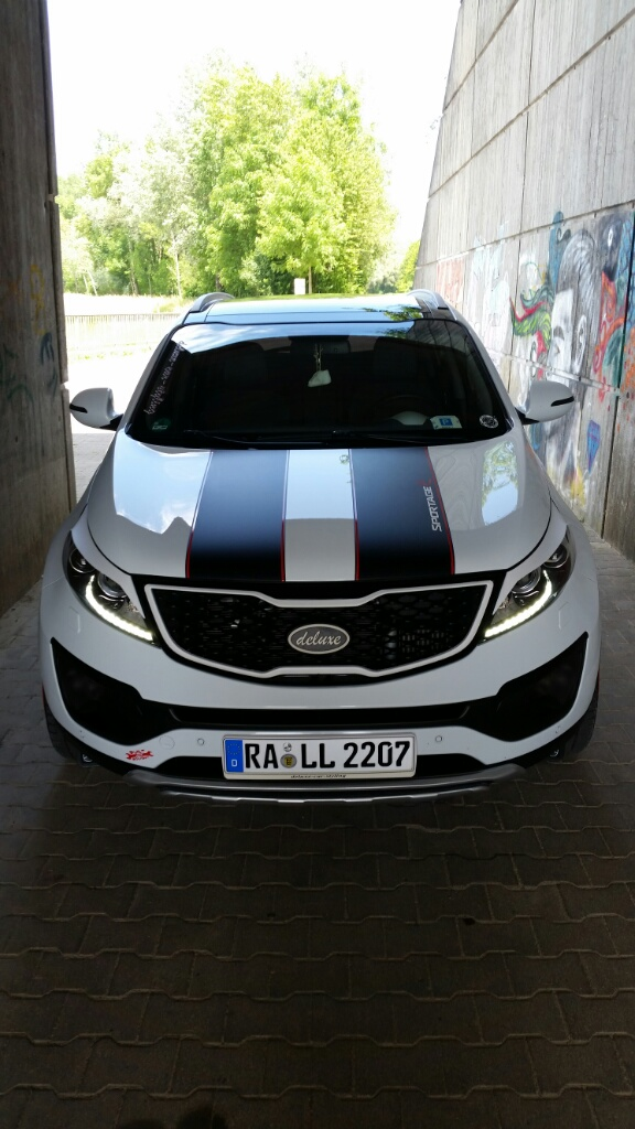 Kia Sportage With Black Rims