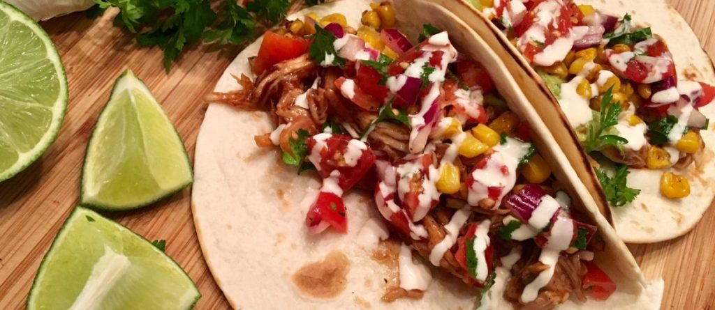 Bbq Pulled Chicken Tacos Kia Denise