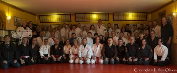 Fall Camp at Honbu dojo