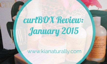curlBOX Review: January 2015