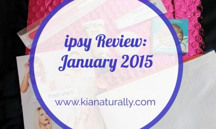 ipsy Review: January 2015