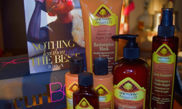 curlBOX Review: August 2015