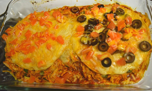 Need a Quick and Easy Dinner? Chicken Enchilada Casserole
