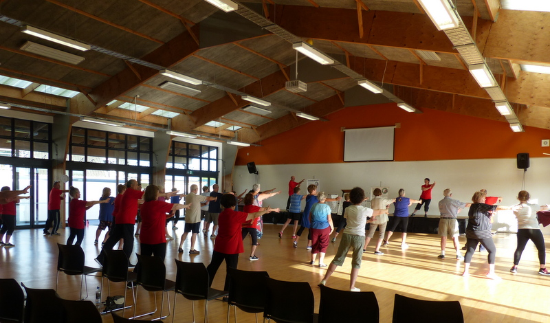 Free tai chi for beginners on 15 & 17 Oct