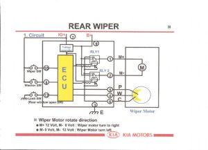 rear wiper motor  Kia Owners Club Forums  Page 1