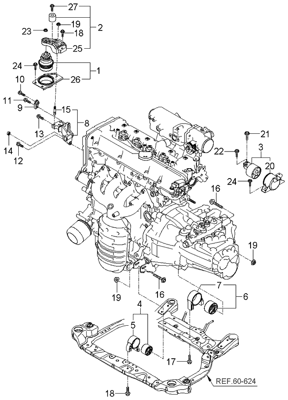 [DIAGRAM] 2002 Kia Rio Engine Diagram FULL Version HD