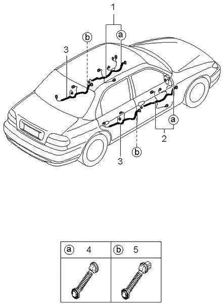 [DIAGRAM] 1995 Kia Sephia Wiring Diagram Original FULL