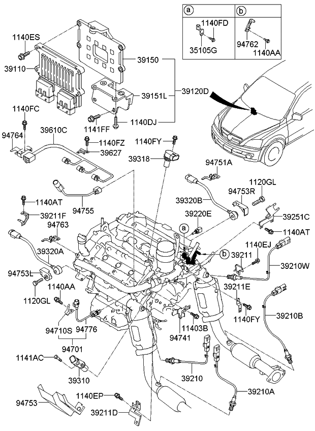 [DIAGRAM] 2011 Kia Sorento Engine Diagram FULL Version HD