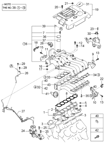 2006 kia sorento engine diagram  description wiring