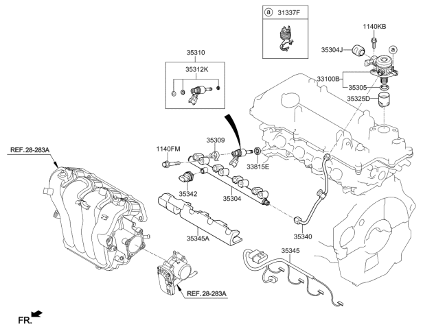 Kia Soul Body Parts Diagram / Instrument Panel For 2016