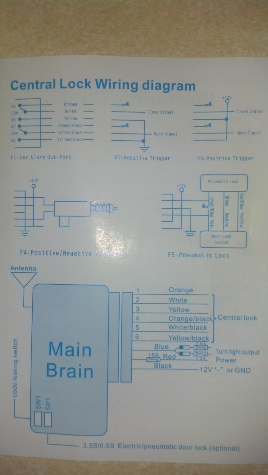 medium resolution of need help reading wiring diagram remote entry install on 13 base 6mt 2013