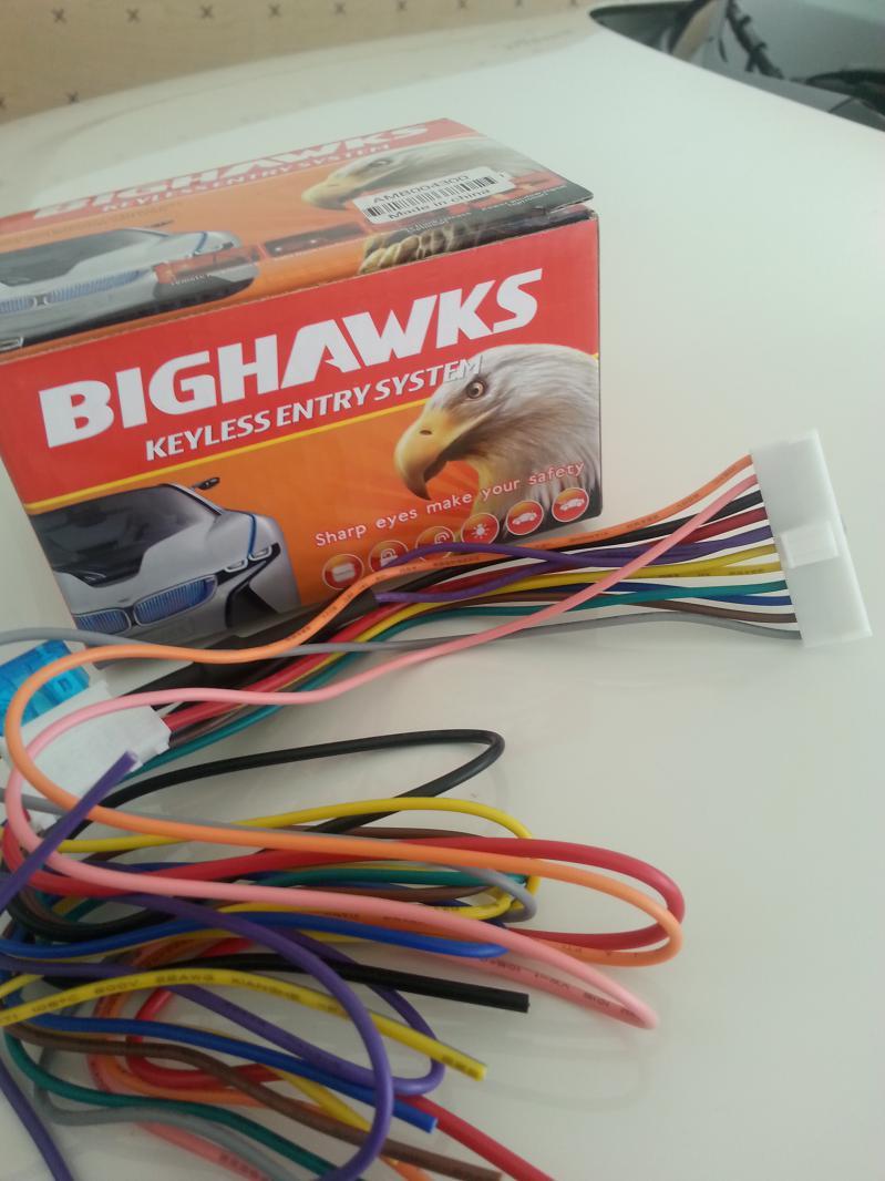 hight resolution of 2014 base soul keyless entry install 1 bighawk alarm wires