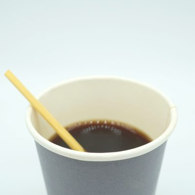 Kaffee-Rührer aus Seggengras (hell) von Kibala