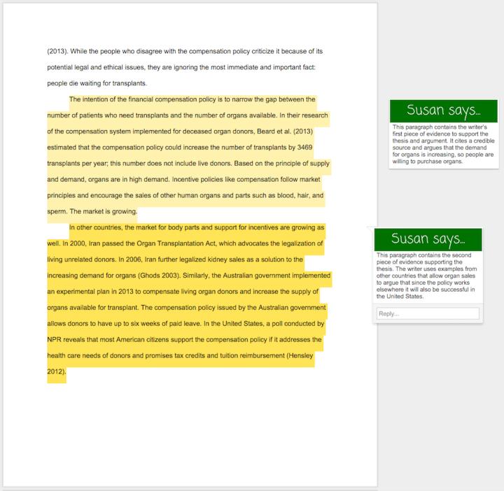 excellent essay example