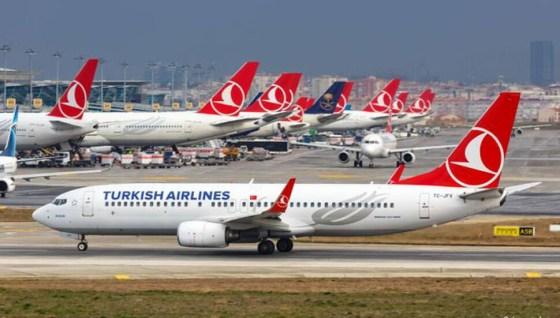 Η Turkish Airlines εξήγηση των πτήσεων Αγγλίας-Τουρκίας