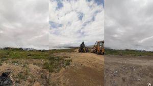 Η σκουπίδια Geçitkale πυρπολήθηκε: συνεχίζονται οι εργασίες πυρόσβεσης