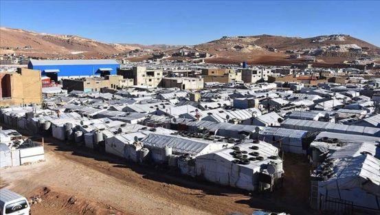 Σκηνή σκηνών προσφύγων από τη Συρία πυρπολήθηκαν στο Λίβανο