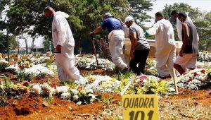 Ο αριθμός των θανάτων από coronavirus υπερέβη τους 365 χιλιάδες στη Βραζιλία