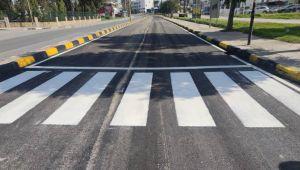 Δρ.  Οδός Burhan Nalbantoğlu ασφαλτοστρωμένος και άνοιξε για κυκλοφορία