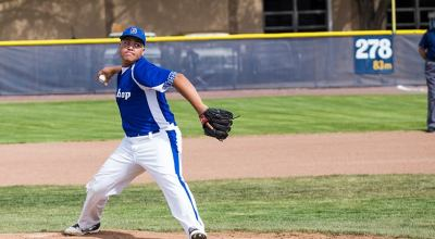 Cam White Pitches Shutout Game vs. Cal City at HOME on April 8, 2014.