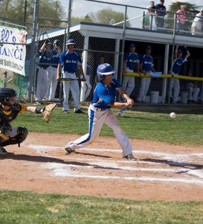 #28 Tony Russell at bat.