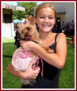 Josi and Candy at the Tri-County Fairgrounds