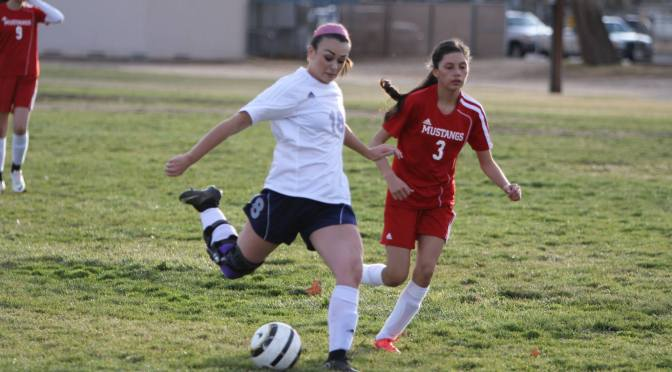 BUHS Girls Soccer blanks Mojave