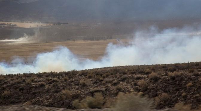 Round Valley Fire