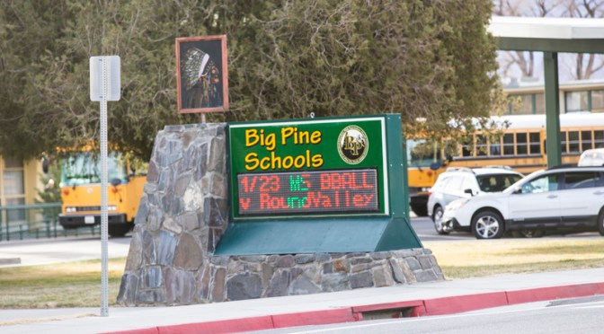 Big Pine Grad Honored