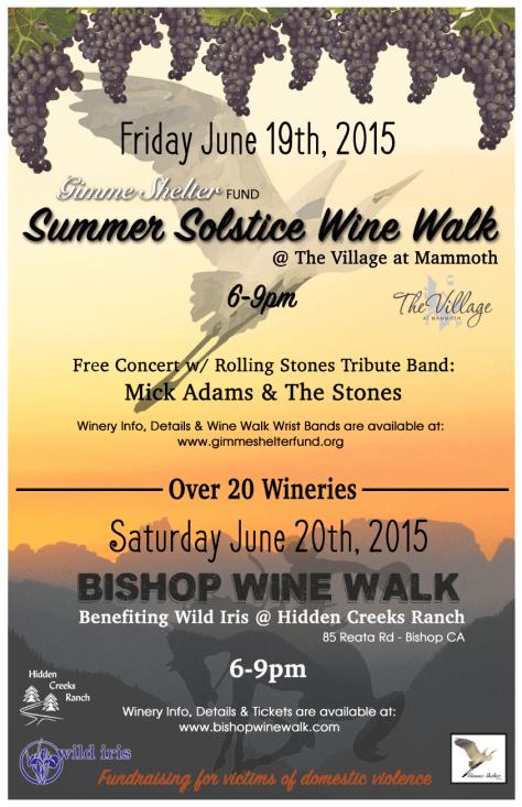 Wine Walk Poster