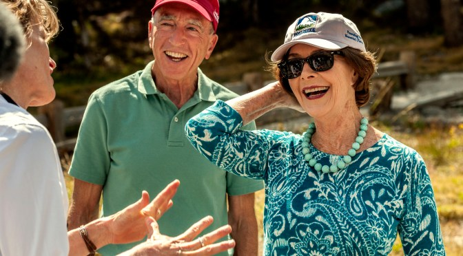 Laura Bush helps rededicate Tioga Road