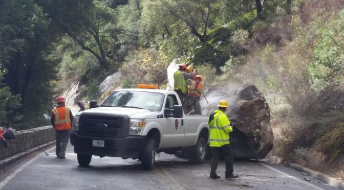 Hwy 140 Within Yosemite National Park to Reopen