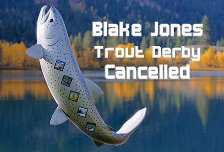 BLAKE JONES CANCELLED