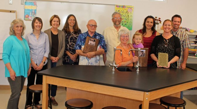 LO INYO SCIENCE LAB DEDICATED