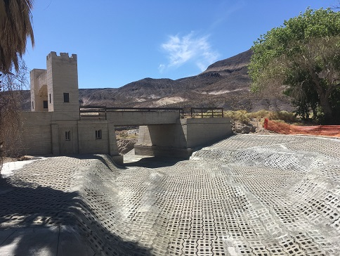 Scotty's Castle Renovations Continue