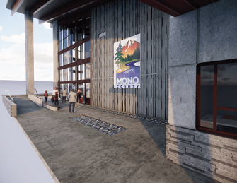 Mono County Civic Center in Mammoth Close to Completion