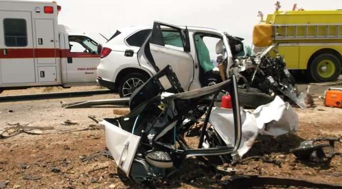 Three Dead in Death Valley Crash