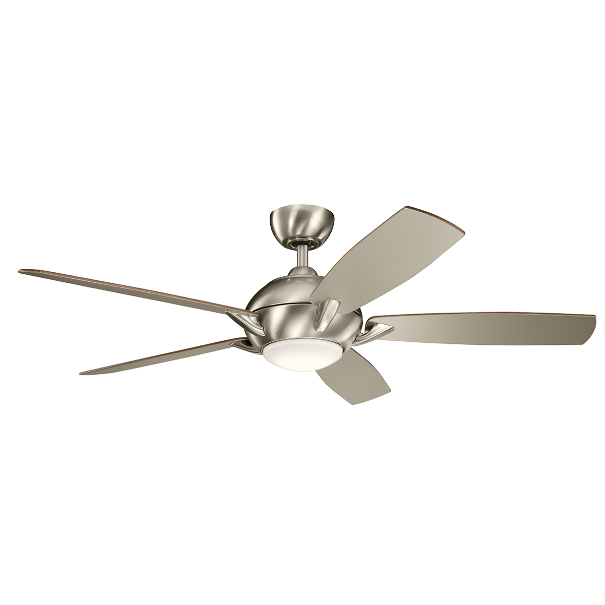 medium resolution of geno led 54 fan brushed stainless steel