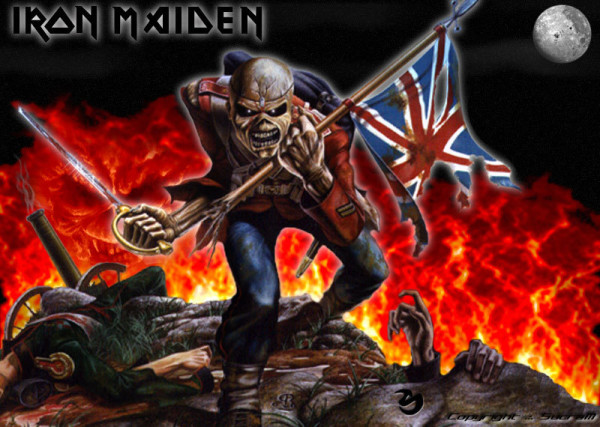 iron maiden is coming