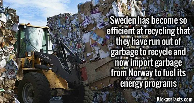 1856 Sweden Recycling
