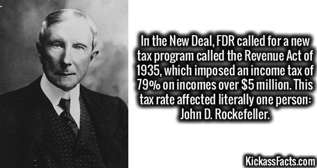 1903 John D. Rockefeller