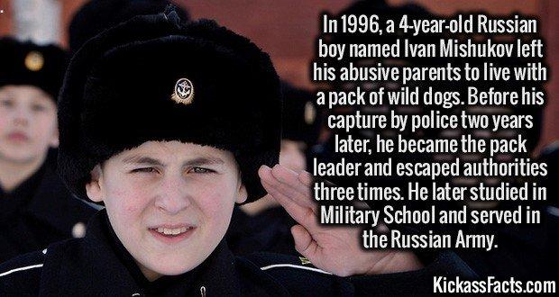Ivan Mishukov, Russian Dogboy