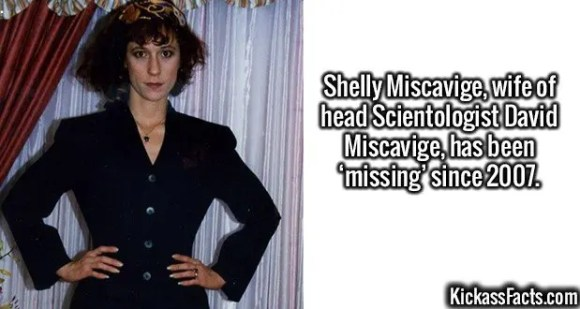 2588 Shelly Miscavige-Shelly Miscavige, wife of head Scientologist David Miscavige, has been 'missing' since 2007.