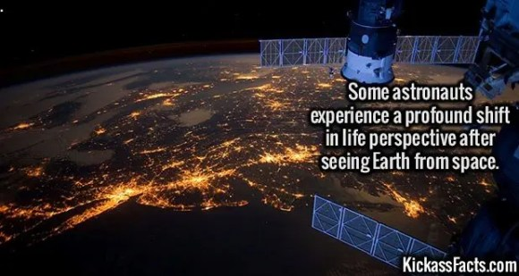 2622 Earth From ISS-Some astronauts experience a profound shift in life perspective after seeing Earth from space.