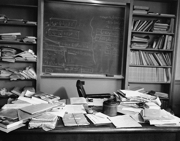 Albert Einstein's office
