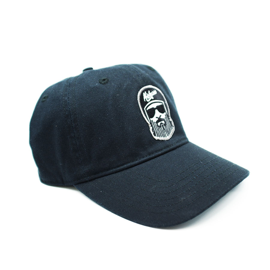 "Casquette ""Dad Hat"" Kickasss Driver barbe (black)"