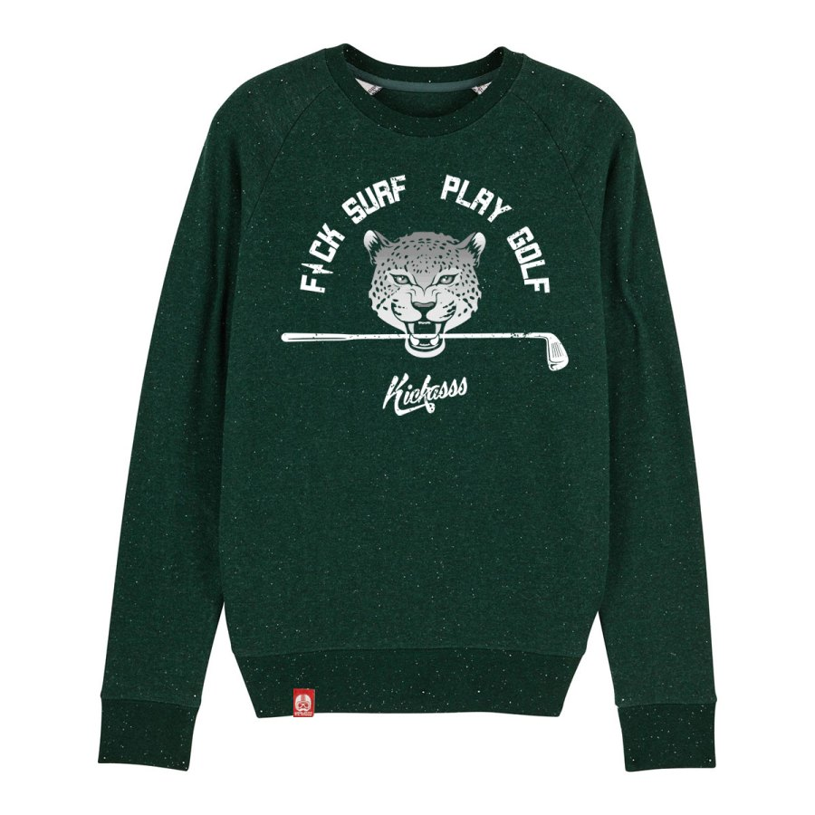 Sweat shirt Fuck surf play golf